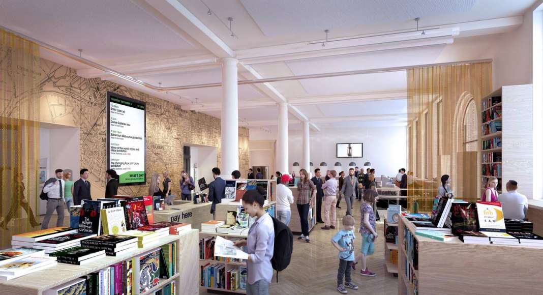 State Library Victoria Baldwin Spencer Vision 2020 : Render © Schmidt Hammer Lassen Architects