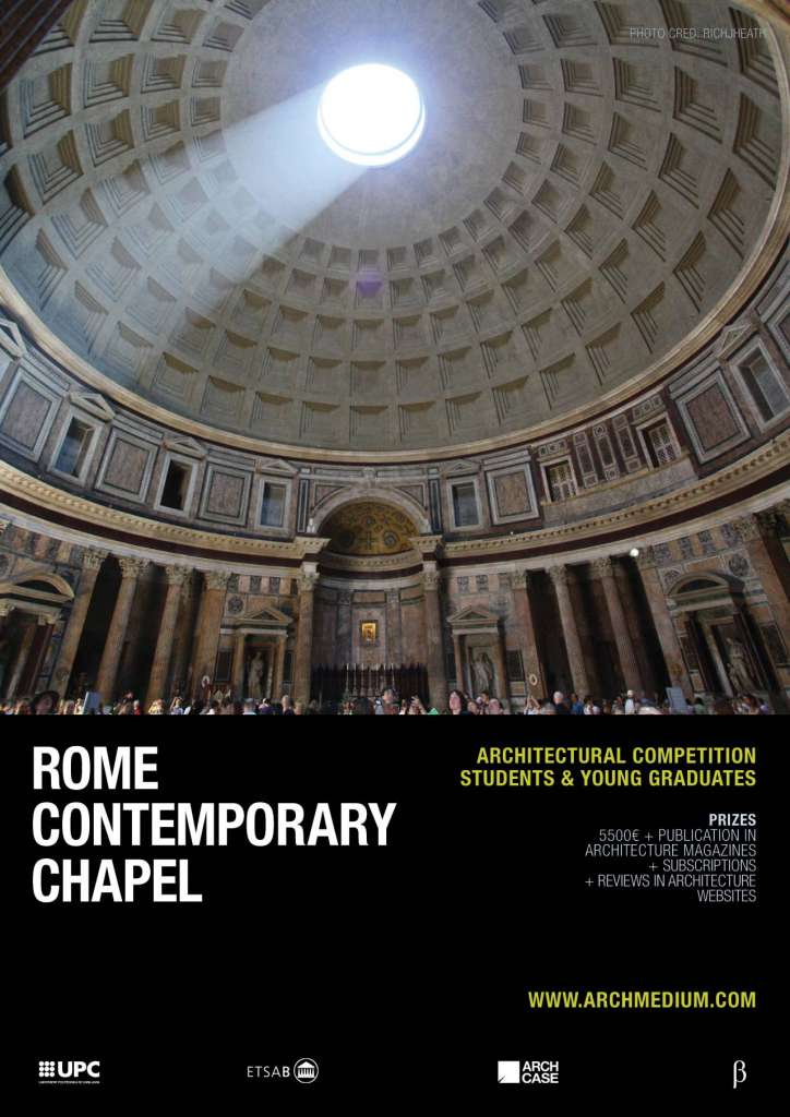 Concurso Rome Contemporary Chapel : Poster photo © Richjheath, cortesía de © ARCHmedium