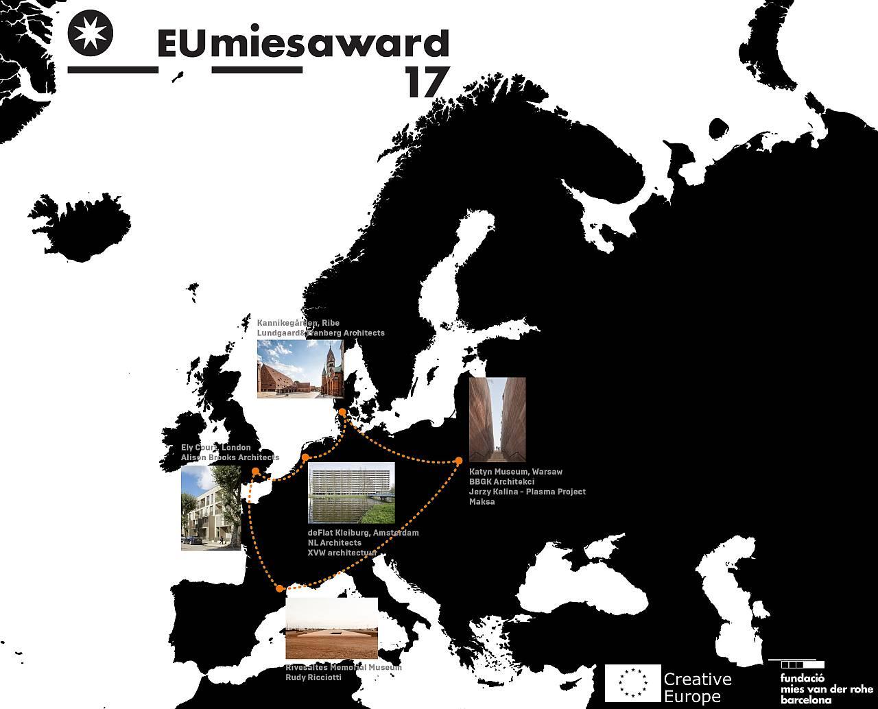 EU MIES AWARD TALKS: Serie de Conferencias Finalistas del Premio EU Mies Award 2017 : Imagen © Premio EU Mies Award