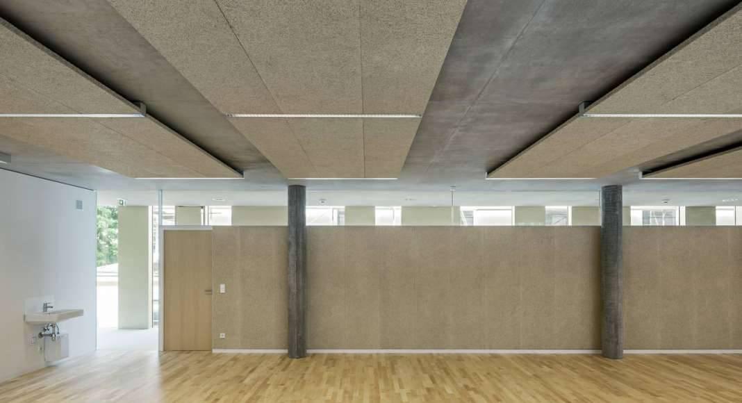 Vista de las Aulas de la Extensión Renovación del Studio Molière y extensión del Liceo Francés de Viena : Photo © Hertha Hurnaus