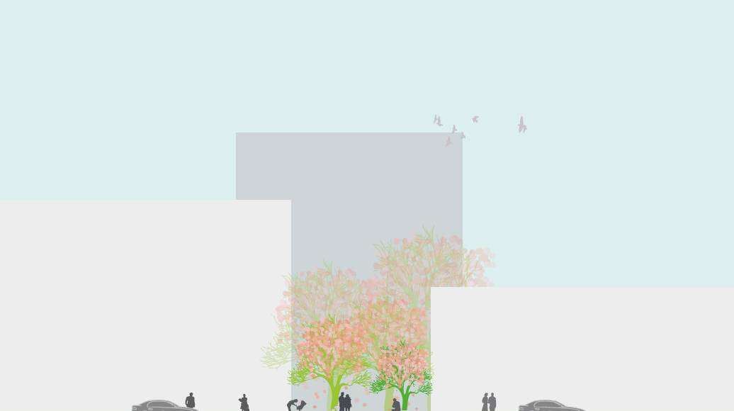 Seoullo 7017 Skygarden Section Garden - Pocket Garden : Image © MVRDV