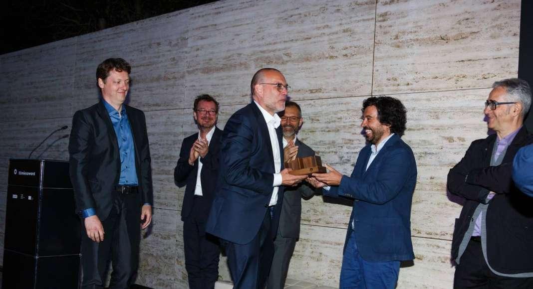 Ceremonia de Premiación EU Mies Award 2017 : Fotografía © Anna Mas