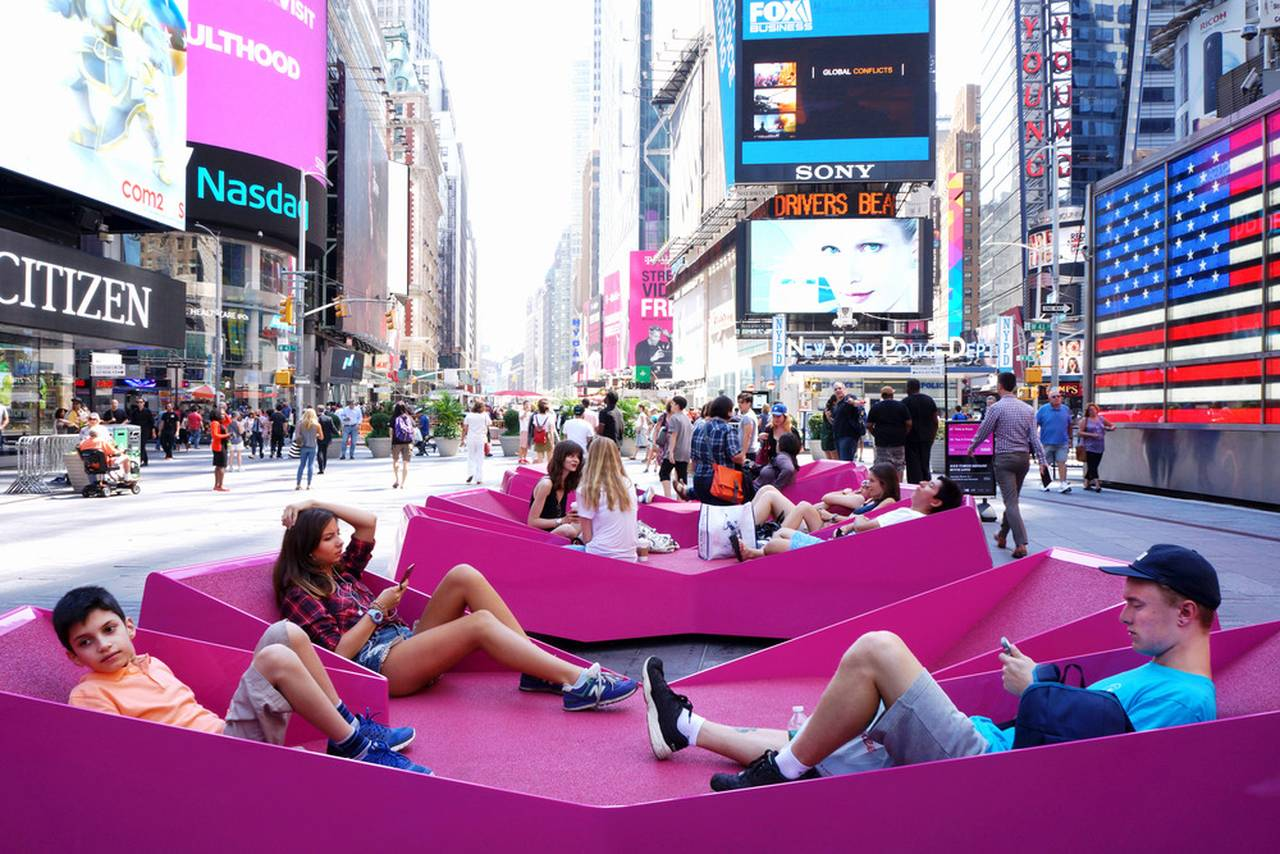 XXX Times Square with Love by J.MAYER.H : Photo © Marsha Ginsberg