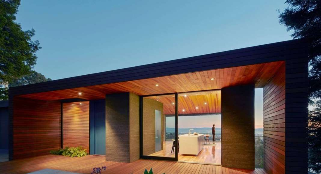 Skyline House Entry by Terry & Terry Architecture : Photo © Bruce Damonte Photography