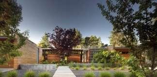 Los Altos Residence designed by Bohlin Cywinski Jackson : Photo © Nic Lehoux/Bohlin Cywinski Jackson