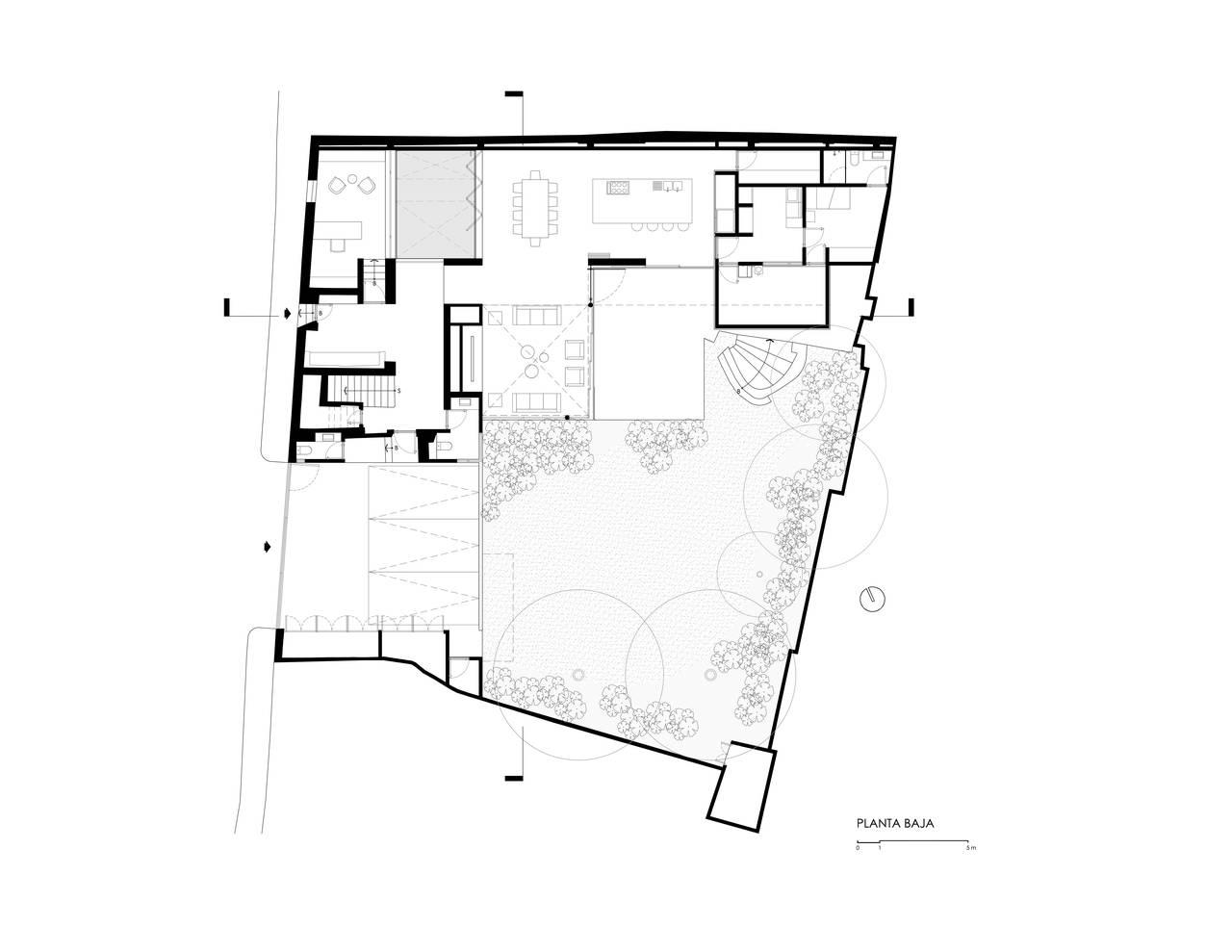 Casa f12 dise ada por el estudio miguel de la torre - Planos de arquitectos ...