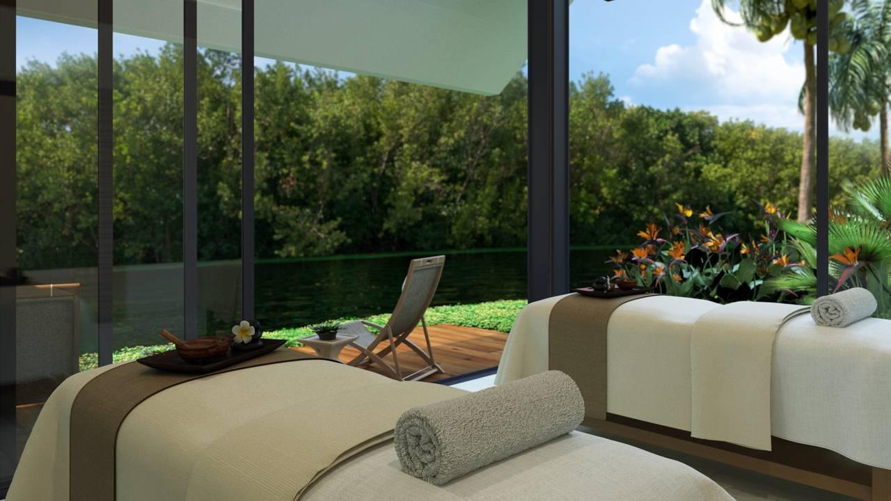 Andaz mayakoba presenta naum spa el santuario maya para for Resort termali in cabina