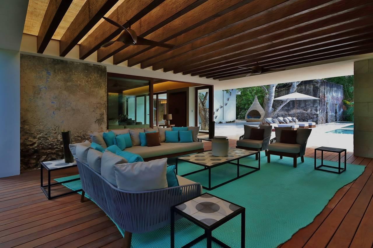 Lujoso Hotel Chablé Resort & Spa en Chocholá, Yucatán : Fotografía © Paulina Morán