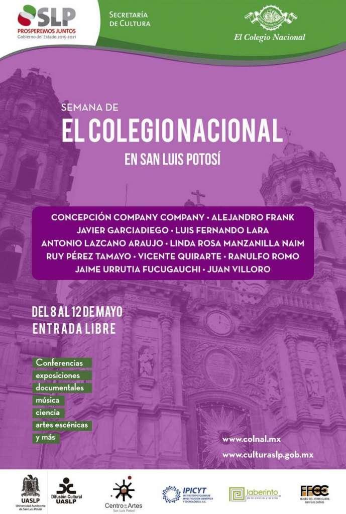 La Semana de El Colegio Nacional en...  : Poster © El Colegio Nacional
