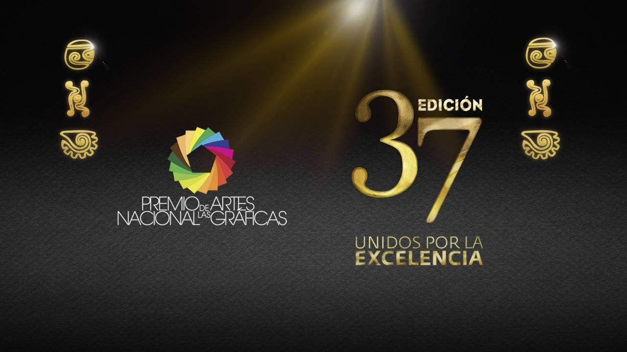 37ª edición del Premio Nacional de las Artes Gráficas 2017 : Cartel © Unión de Empresarios de la Comunicación Gráfica