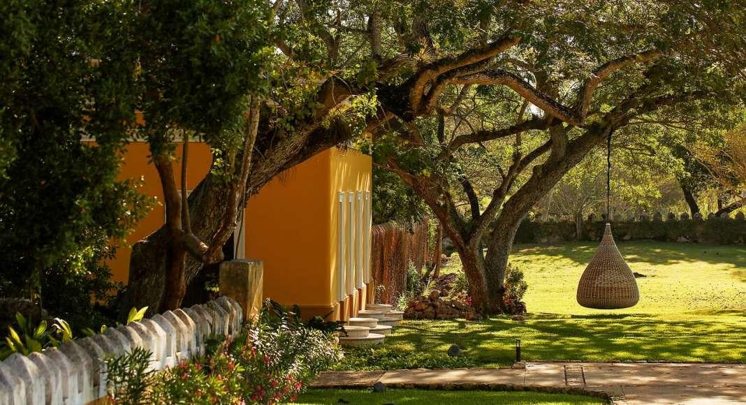 Hacienda del Hotel Chablé Resort & Spa en Chocholá, Yucatán : Fotografía © Paulina Morán