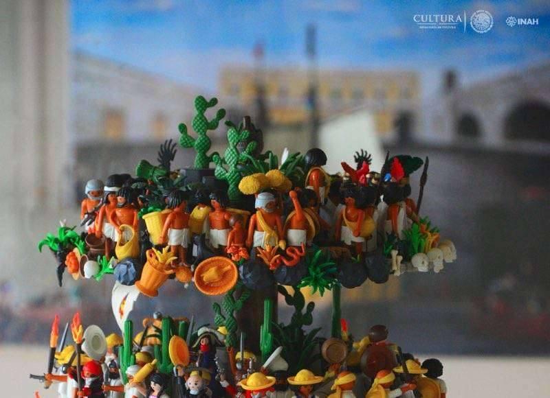 La muestra concluirá con el diorama 'México. Árbol de la vida' : Foto © Héctor Montaño INAH