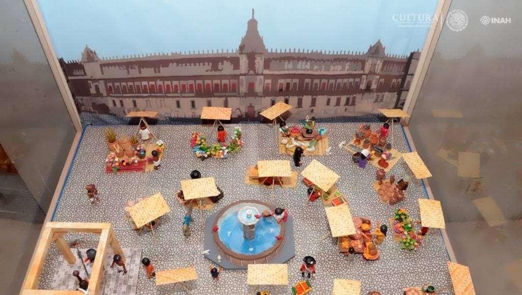 Plaza Mayor de México : Foto © Héctor Montaño INAH