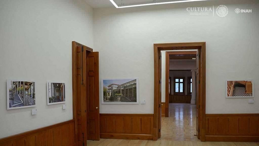 Se ha montado una exposición donde se explica el proceso de restauración del inmueble : Foto © Héctor Montaño INAH