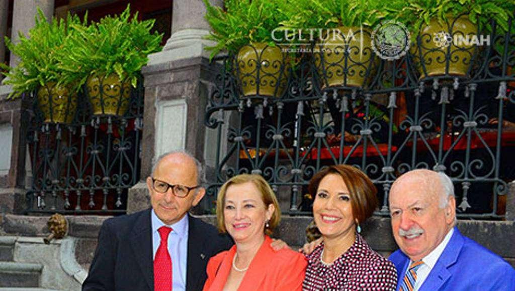 Se presento la primera fase de restauración del emblemático inmueble : Foto © Héctor Montaño INAH