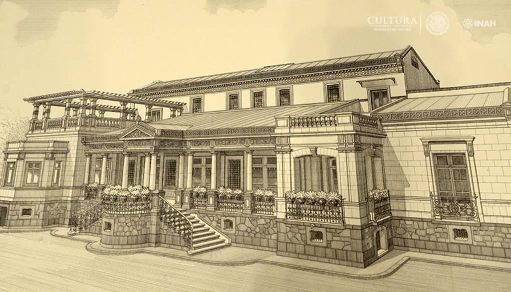 Los espacios evocan al genio del arquitecto y escultor. Antonio Rivas Mercado : Foto © INAH