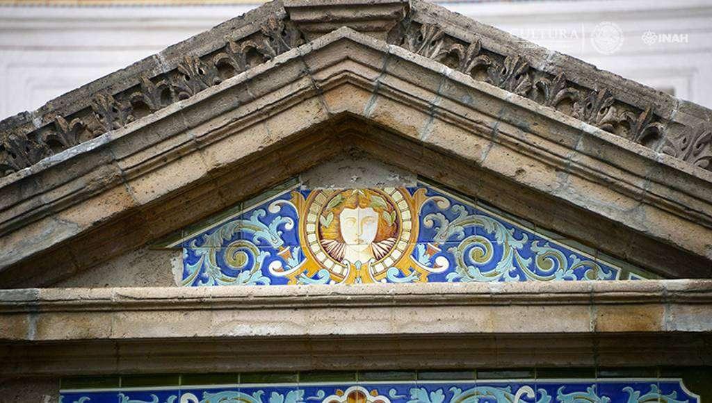 Más de 50 mil tipos de mosaicos encáusticos : Foto © Héctor Montaño INAH