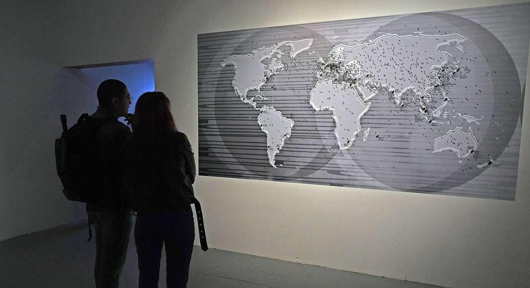 En el marco del año Dual México-Alemania, la exhibición Infosphere arribó al Centro Nacional de las Artes (Cenart) : Fotografía © FSM / Conaculta
