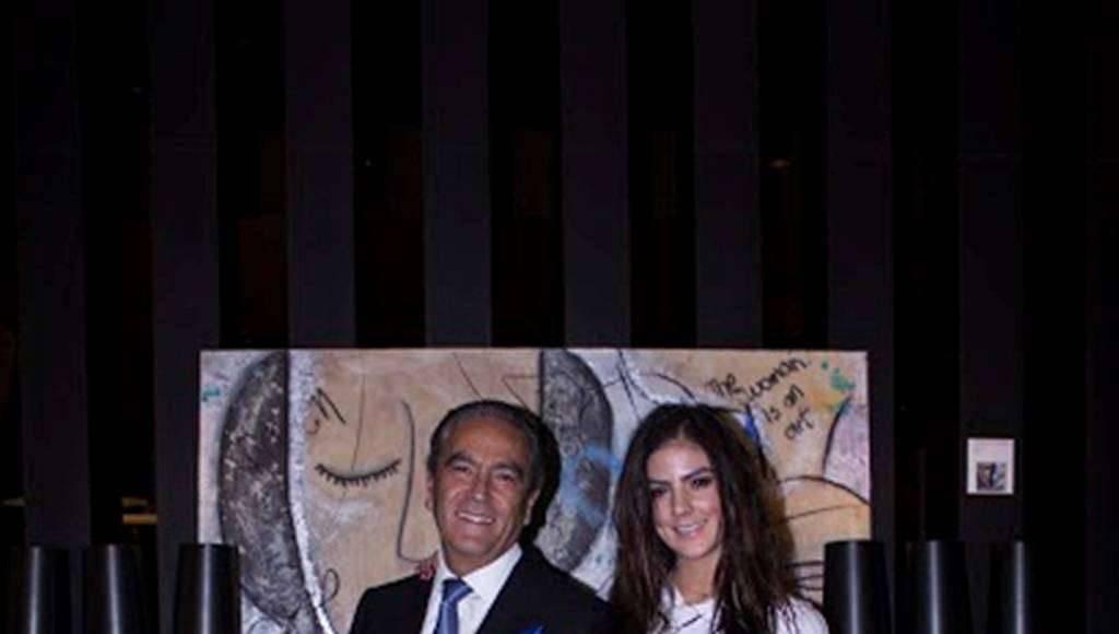 Andrés Adolfo Puente Espinosa, Mariana Puente Rojas en la exposición Urban Faces : Fotografía © Karla Puente Studio