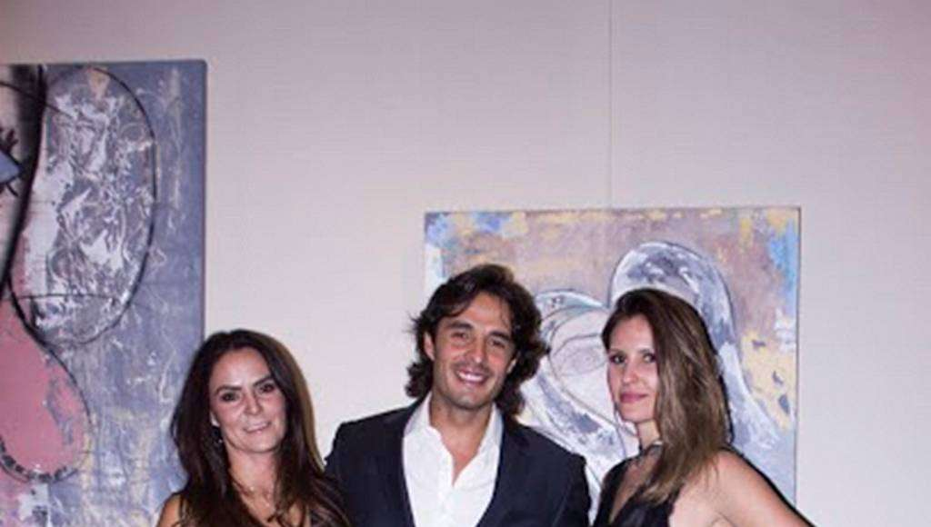Karla Puente Rojas, Fernando Alonso, Katarina Sacht en la exposición Urban Faces : Fotografía © Karla Puente Studio