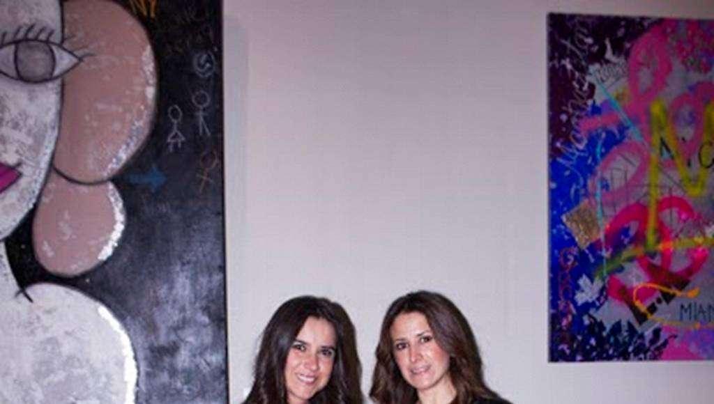 Grace Ramirez, Orpha Roji en la exposición Urban Faces : Fotografía © Karla Puente Studio