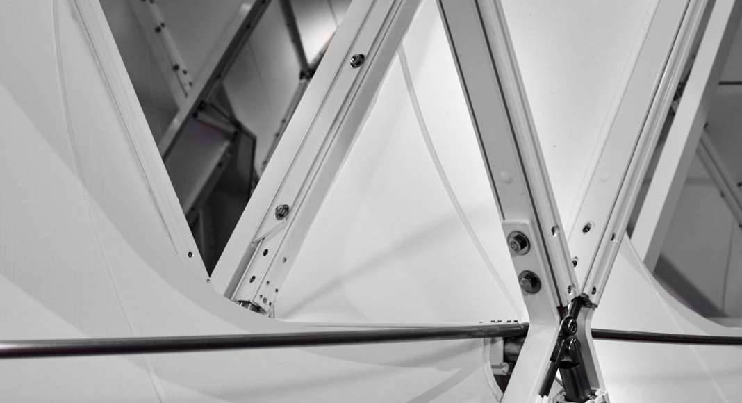 Prototype II, Techtextil, Frankfurt, Alemania, 2017 by UNStudio and MDT-tex : Photo © Olaf Becker