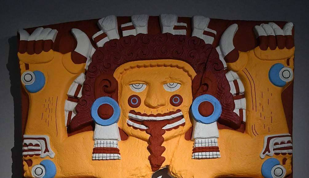 Nuestra sangre, nuestro color. La escultura polícroma de Tenochtitlan : Fotografía © Museo Nacional de Antropología