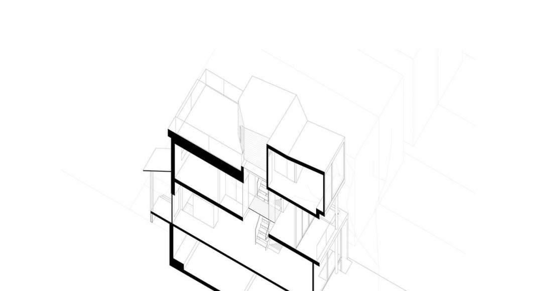 Axonométrico Twelve Tacoma diseñado por Aleph-Bau en Toronto : Drawing © Aleph-Bau
