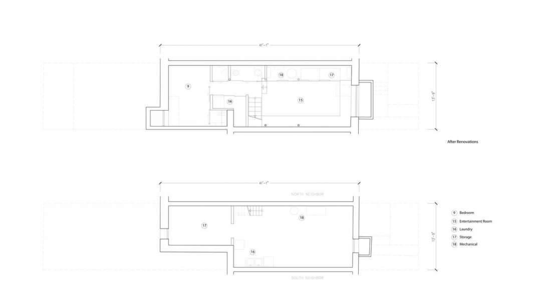 Planta Sótano Twelve Tacoma diseñado por Aleph-Bau en Toronto : Drawing © Aleph-Bau