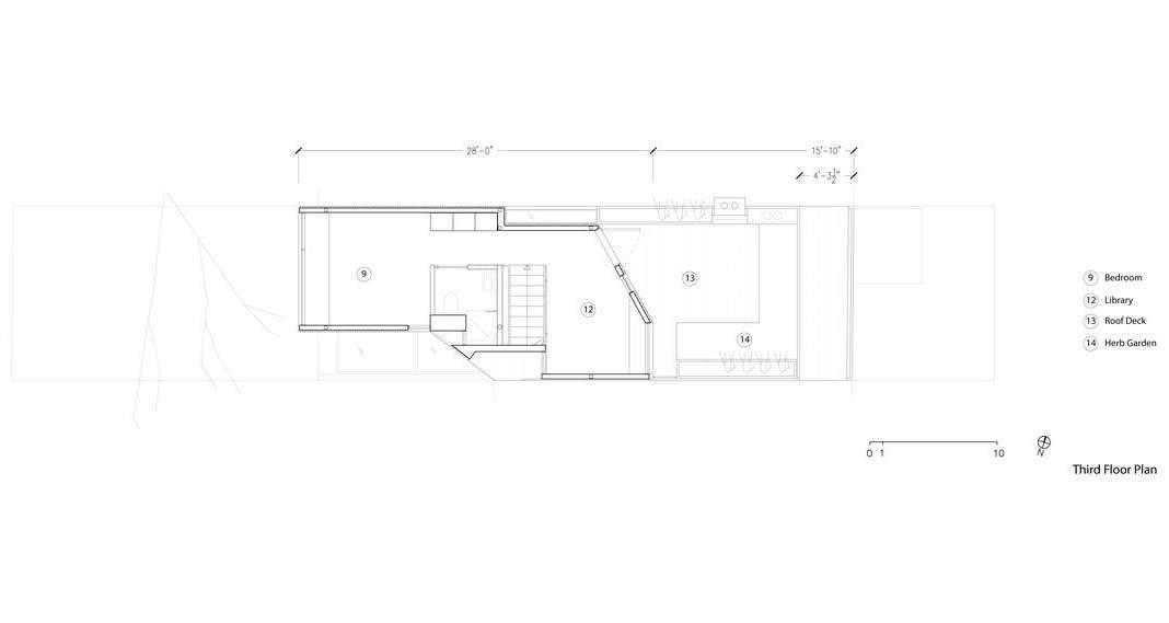 Planta Segundo Nivel Twelve Tacoma diseñado por Aleph-Bau en Toronto : Drawing © Aleph-Bau