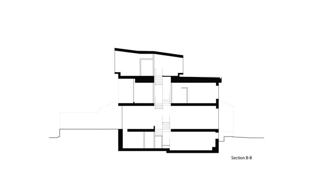 Corte Dos Twelve Tacoma diseñado por Aleph-Bau en Toronto : Drawing © Aleph-Bau