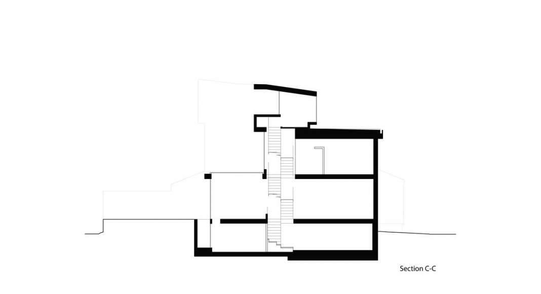 Corte Tres Twelve Tacoma diseñado por Aleph-Bau en Toronto : Drawing © Aleph-Bau