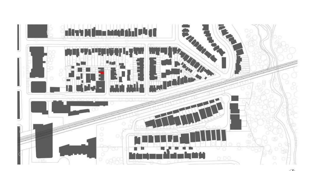 Planta de Conjunto Twelve Tacoma diseñado por Aleph-Bau en Toronto : Drawing © Aleph-Bau