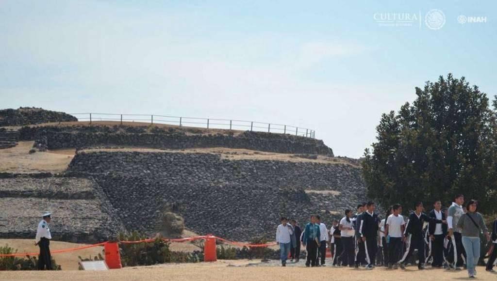 Al sur de la Ciudad de México, en la Zona Arqueológica de Cuicuilco, se brindará al público una visita guiada por esta antigua urbe : Foto © INAH