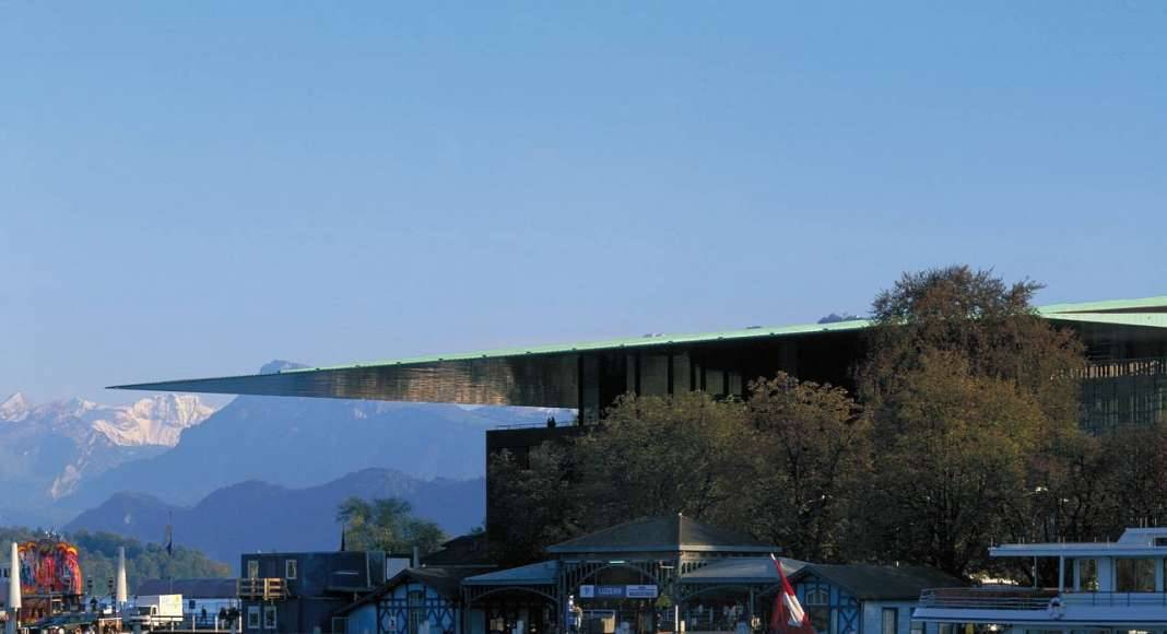 Culture and Convention Center, Lucerne (Switzerland) 1992–2000 : Copyright © Philippe Ruault
