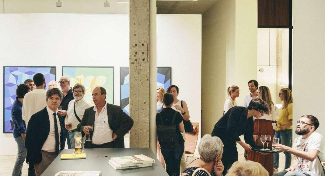 Inauguración de la Exposición de USM en la Galería Naharro de Madrid - USM Haller E : Fotografía © Luis Marino Cigüenza