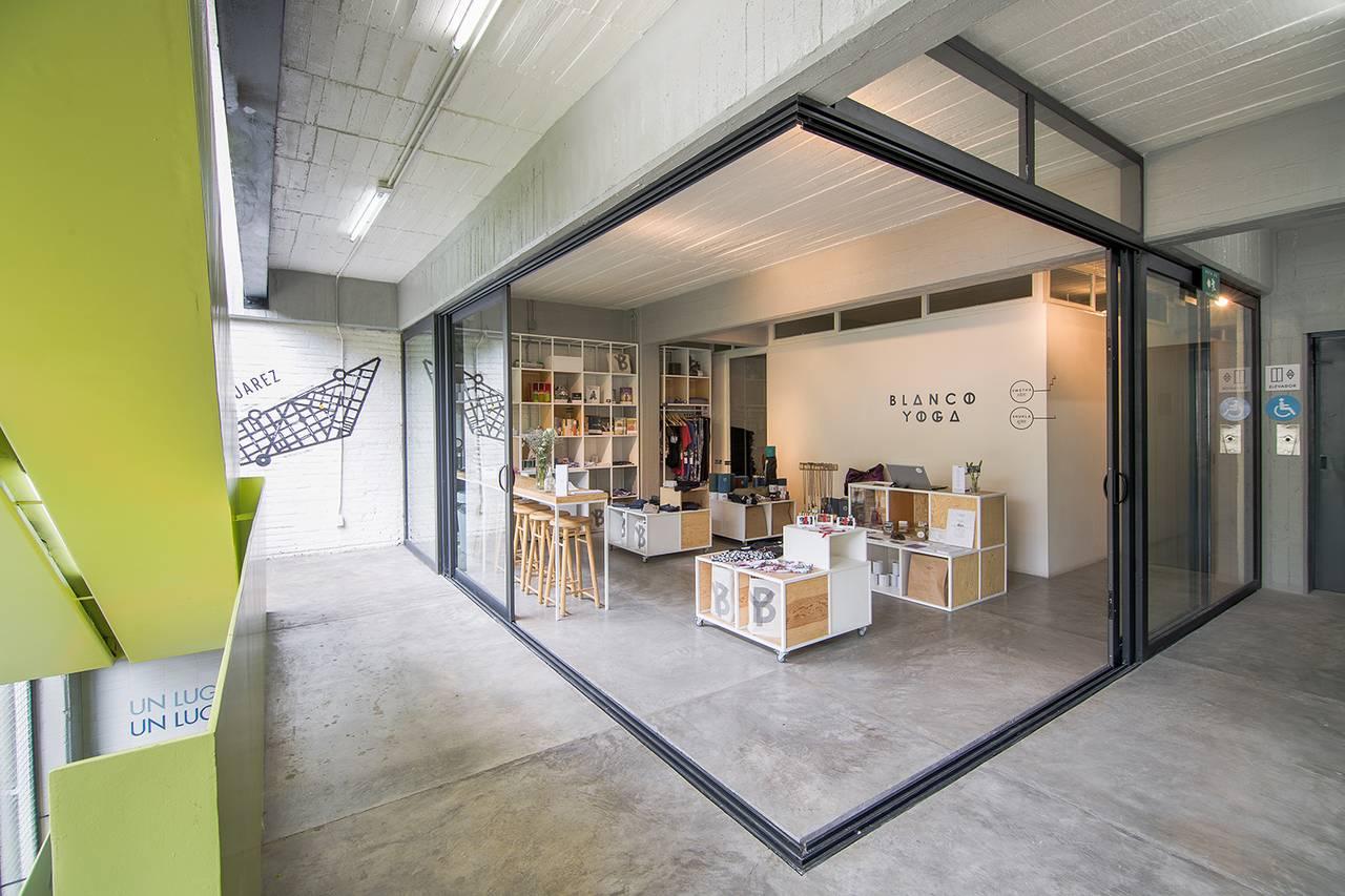 Vista Interior del proyecto Milán 44 ReUrbano diseñado por Francisco Pardo Arquitecto : Fotografía © Diana Arnau