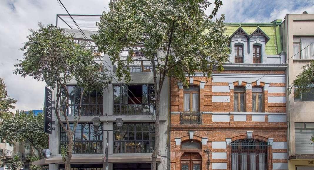 Vista Exterior del proyecto Milán 44 ReUrbano diseñado por Francisco Pardo Arquitecto : Fotografía © Diana Arnau