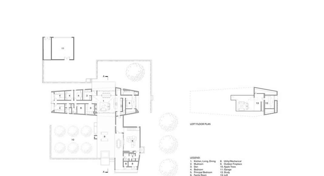 Compass House Floor Plans : Photo credit © superkül