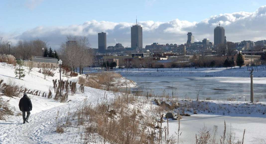 Saint-Charles river : Photo credit © The City of Québec