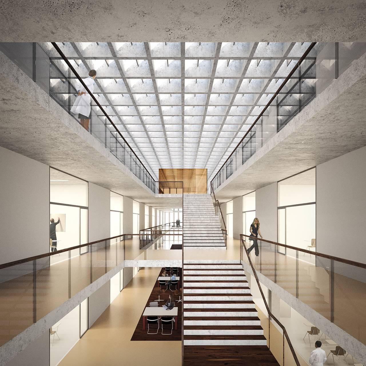 Facultad de Medicina de São José dos Campos diseñada por KAAN Architecten : Photo © Kaan Architecten