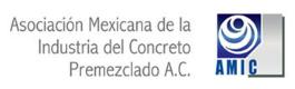 Logo © Asociación Mexicana de la Industria del Concreto Premezclado, A.C.