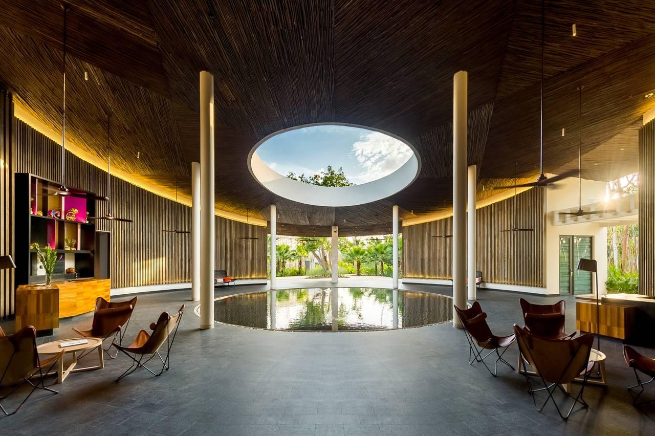 Andaz Mayakoba Resort Sanctuary Lounge View : Fotografía © Andaz Mayakoba Resort