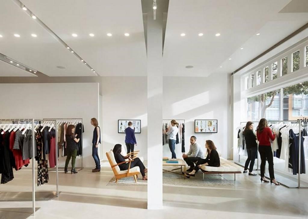 Bohlin Cywinski Jackson redefine el nuevo concepto de la tienda Reformation : Photo Credit © Matthew Millman/Bohlin Cywinski Jackson