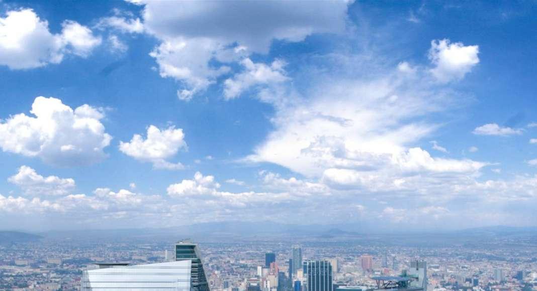 Vista Aerea del desarrollo Chapultepec Uno : Fotografía © Chapultepec Uno