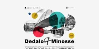 Ceremonia de Entrega de los Premios Internacionales Dedalo Minosse : Cartel © Premio Internazionale Dedalo Minosse, courtesy of © ALA – Assoarchitetti