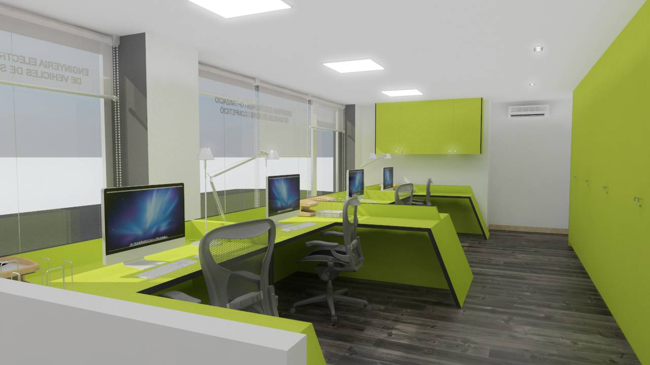 Ampliación de las Oficinas de DIMSPORT Barcelona diseñada por MANUEL TORRES DESIGN : Imagen © MTD España