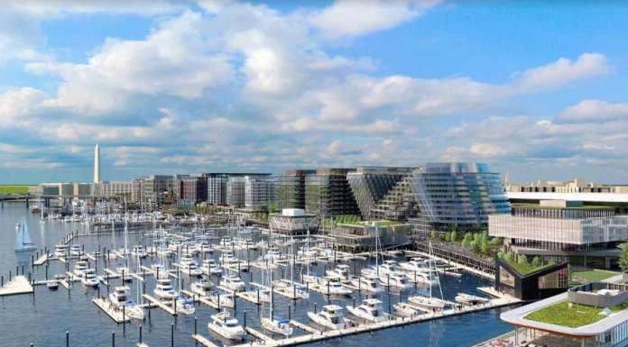 Hollwich Kushner presenta el diseño para el proyecto Wharf Marina : Render © Hollwich Kushner