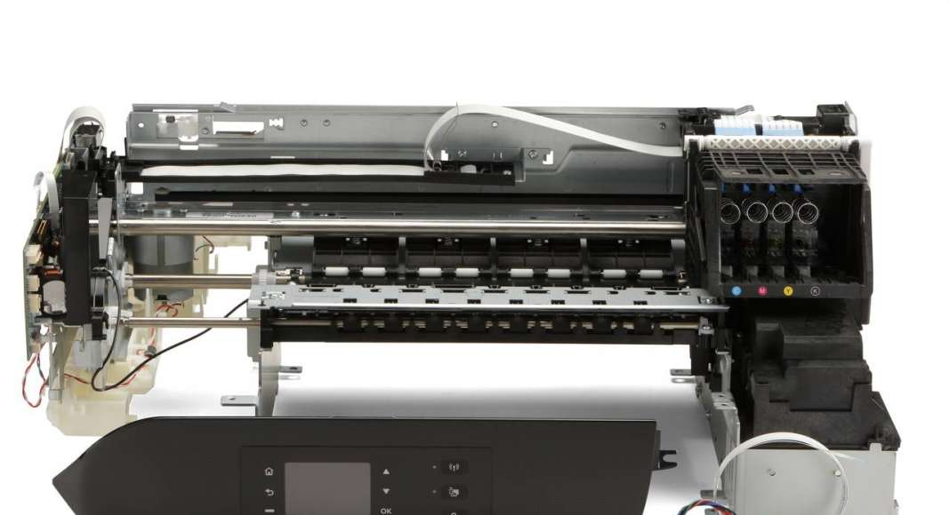 Thermal Inkjet SI-1300 Scanner : Fotografía © HP México