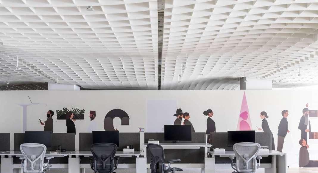 Living Office de Herman Miller cobra vida en NeoCon 2017 : Fotografía © Herman Miller México